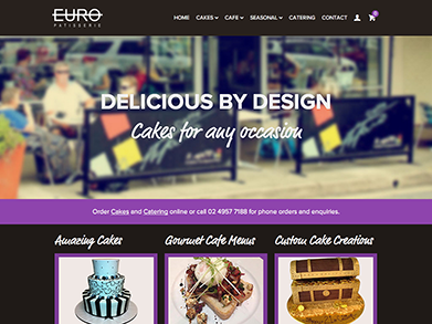 Euro Patisserie website