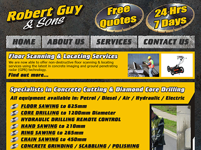 Robert Guy & Sons website