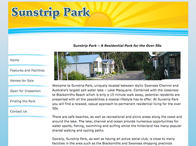 Sunstrip Park website